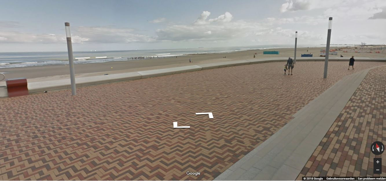 de Rotonde in Wenduine via Google Streetview