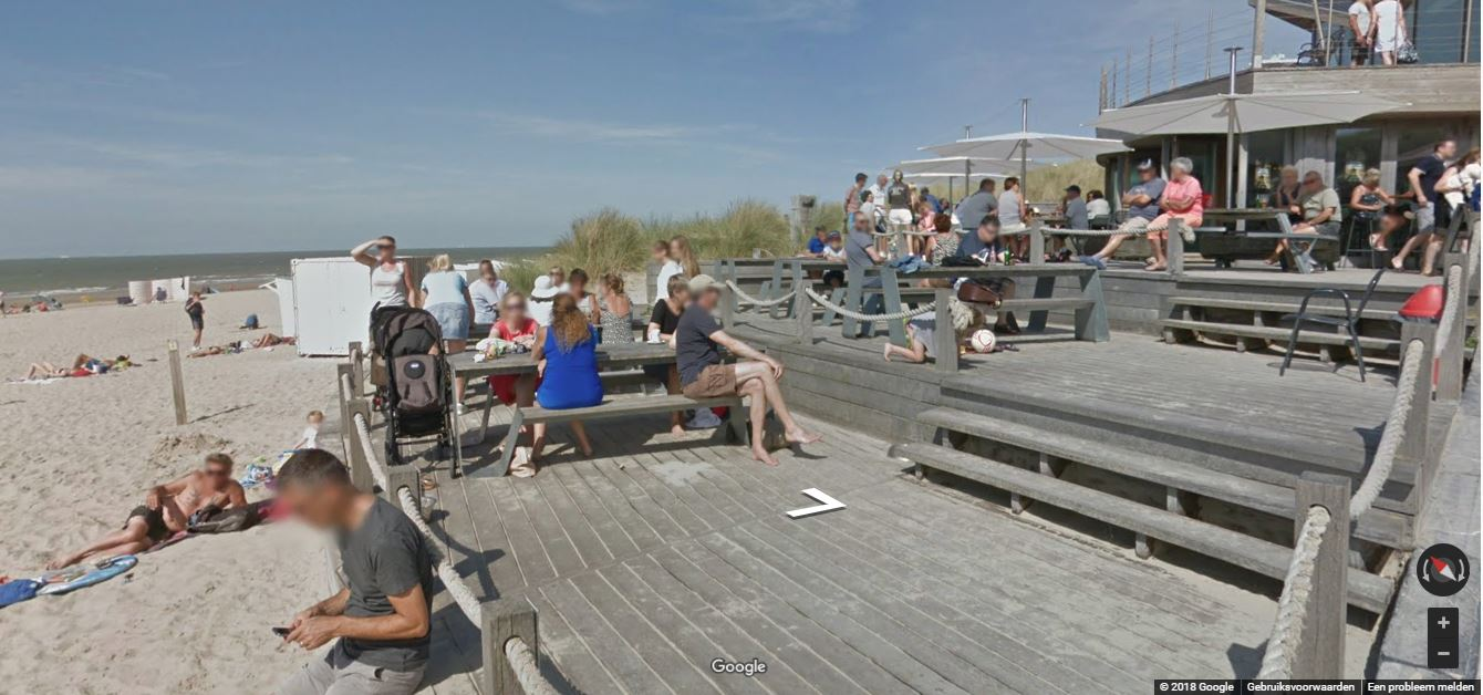 De  Twins Beachclub in Bredene