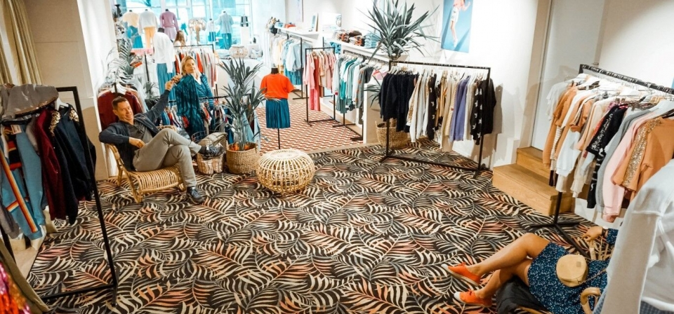 Shoppen met Leila van I Really Need My Space bij Lewis & Molly in de Kustlaan in Knokke-Heist