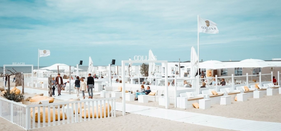 Blogverhalen met Leila van I Really need my space bij strandbar Collin's Beach in Knokke-Heist