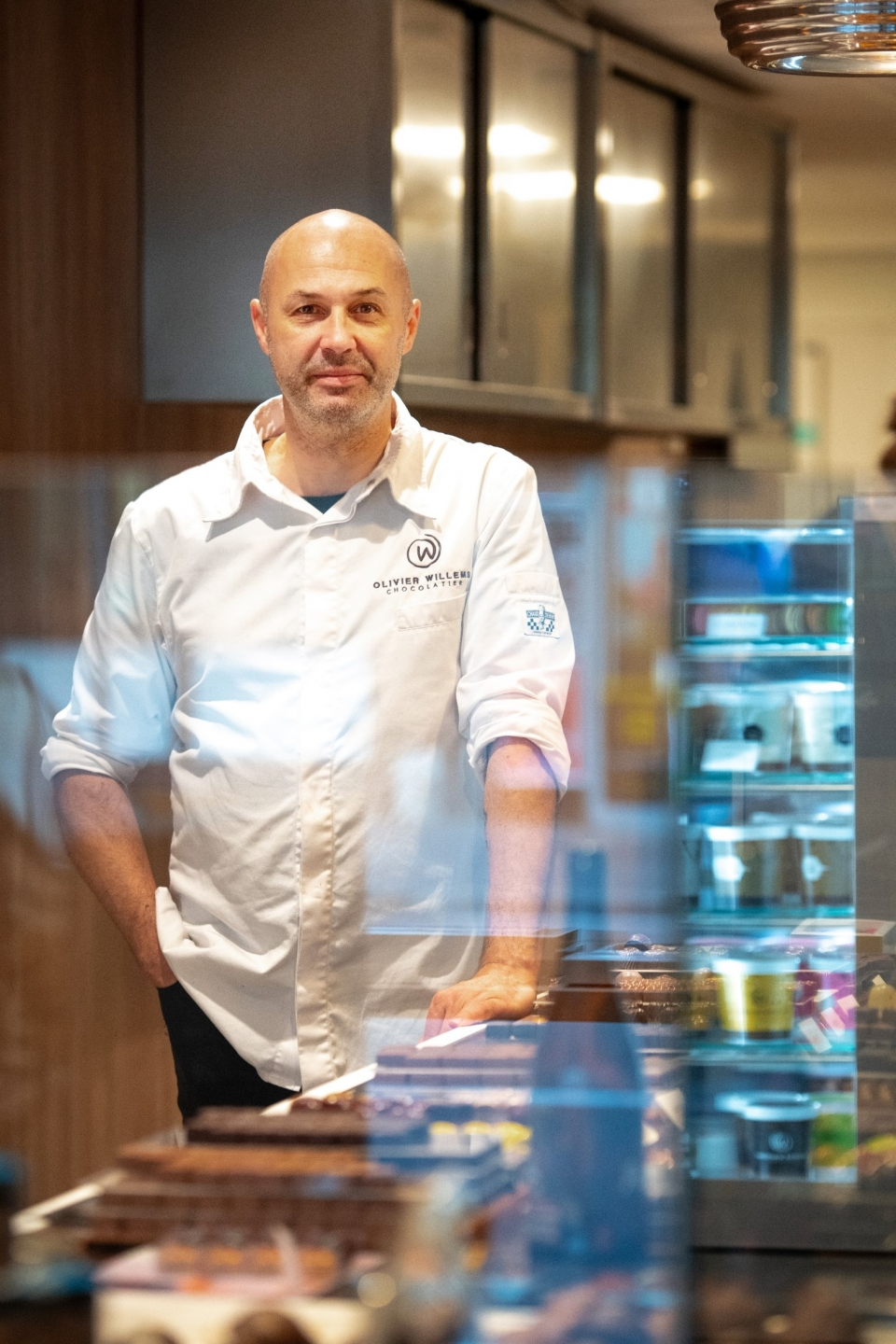 Kustambassadeur Olivier Willems van Chocolatier Willems